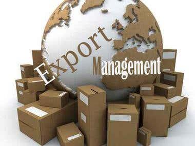 Export Management Application