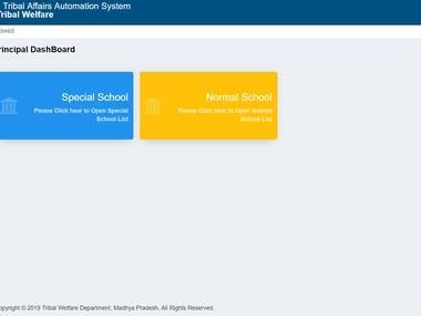 EMRS School Profile Creation Module