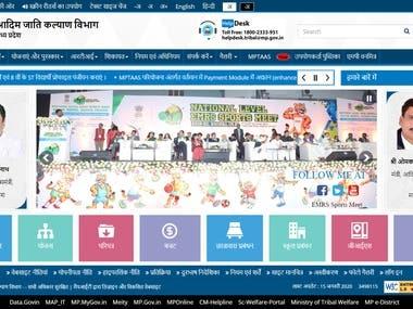 TRIBAL Department CMS Website