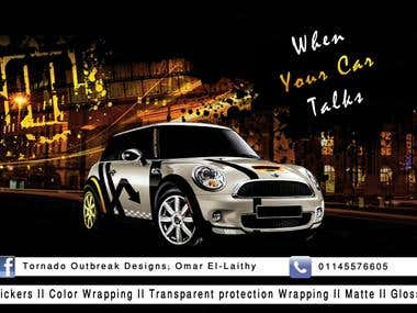Car Wrap flyer