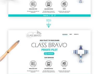Course website for Pilot