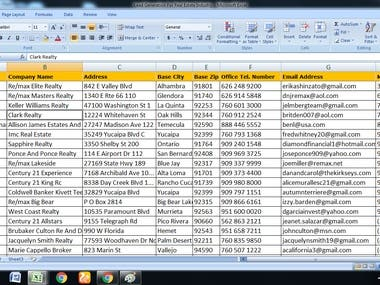 Lead generation for marketing department.