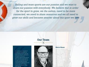 Crew Finder website