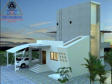 Residential villa,