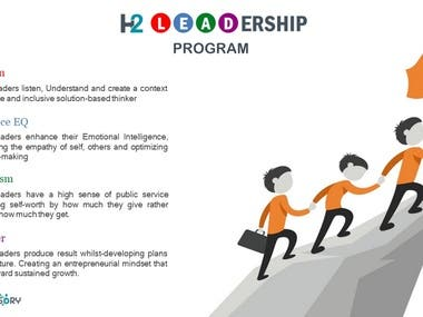 Infographic for leadership