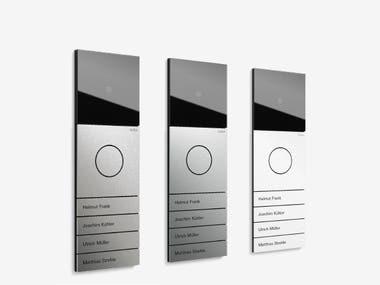 Door communication - Glass Coding Panel