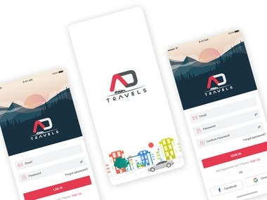 AD Travel(Taxi APP)