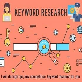 I will do SEO keyword research