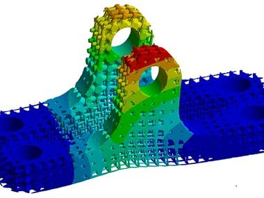 FEA & Optimization(Ansys and Matlab)