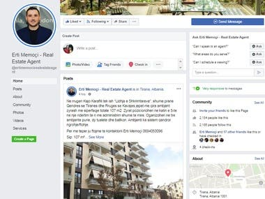 Facebook Business Page And Istagram November 2019