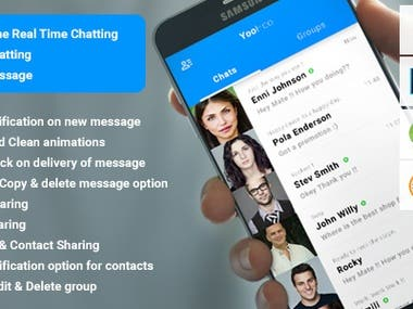 GroupChatting app