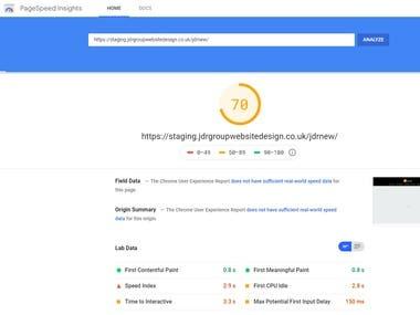 Wordpress Site Speed Optimization Google Pagespeed