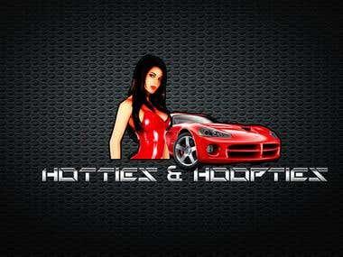 Hotties & Hoopties logo