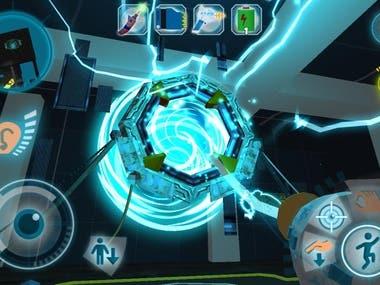 """Popular dynamic 3D Unity game """"Dark Riddle"""""""