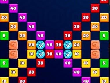 Play Market - 2D casual Block Crusher game