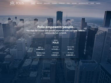 CryptoCurrency Project ( POLIS )
