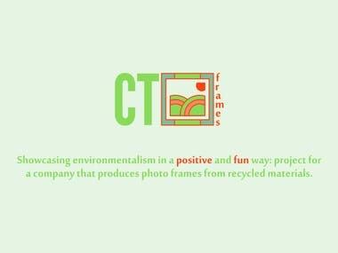 Ct frames logo