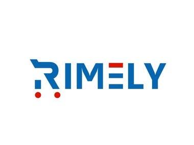 rimely logo design