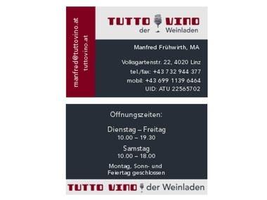 tuttovino business card