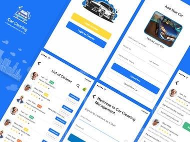 Car Wash Service App