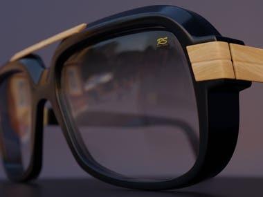 3D Sunglass Model