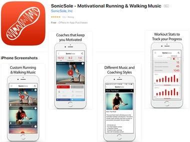 SonicSole - Motivational Running & Walking Music on Appstore