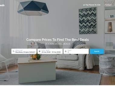 Website for getting best hotel deals