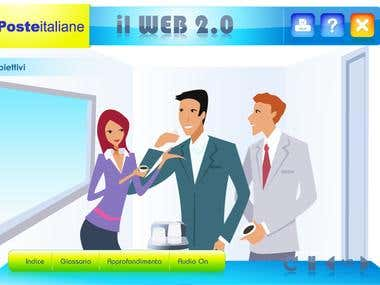 illustration for e-learning course