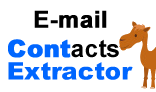 E-mail Contacts Extractor