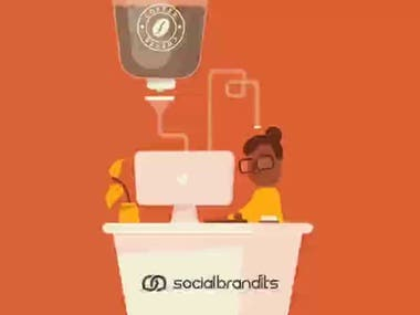 Monday Blues Video for Social Brandits