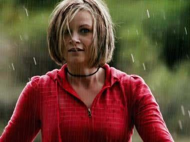 Photoshop - Rain Water Effect