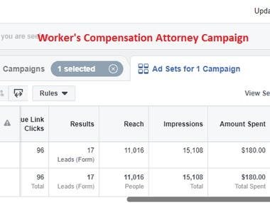 Attorney Campaign