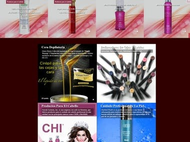 Create Cosmetics site in Chilie