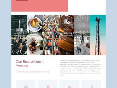 WordPress Website for company