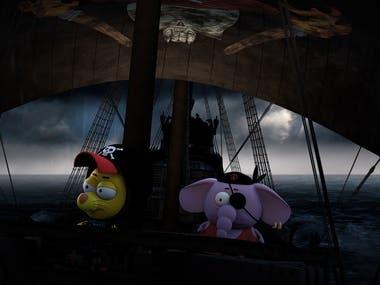 "Teaser for ""King Shakir: Land of Pirates"""