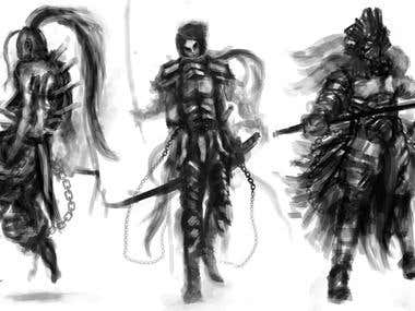 Character and Creature Design Schemes