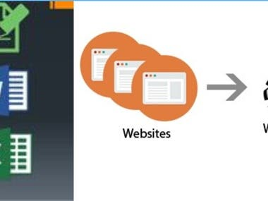 data entry, web scrapping, web data collection
