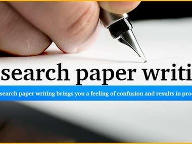 Technical writing Research Writing