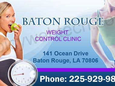 Billboard ad - Weight control