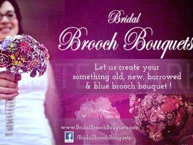 Billboard ad - Bridal Brooch