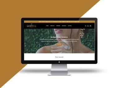 Soiree - eCommerce site