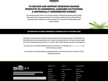 RX Green Technologies (Wordpress)