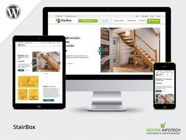 Website for staircase designing.