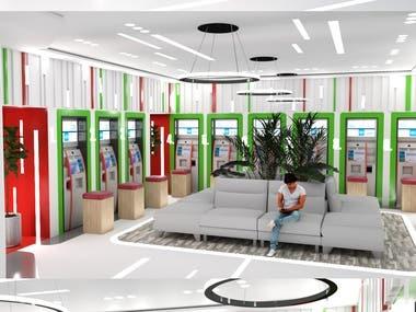 Design a self service kiosk / smart service center