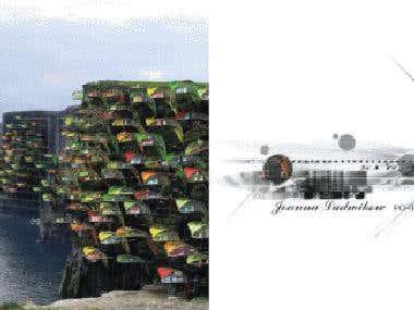 portfolio architect & 3d designer