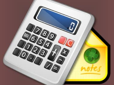 CALCULATOR WITH NOTES PRO