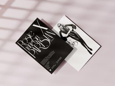 Parisian Suite x Rosie Flyer Design
