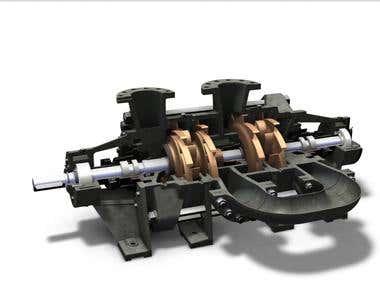 Multistage Pumps design