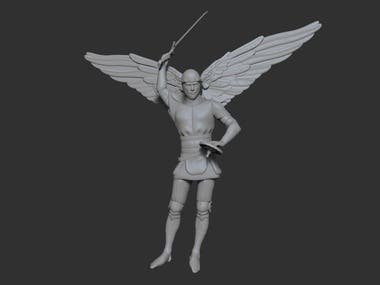 Archangel figurine