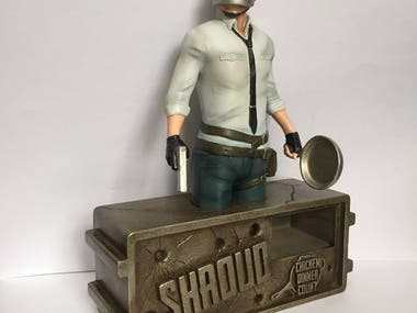 Shroud figurine